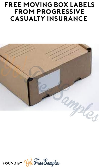 FREE Moving Box Labels from Progressive Casualty Insurance