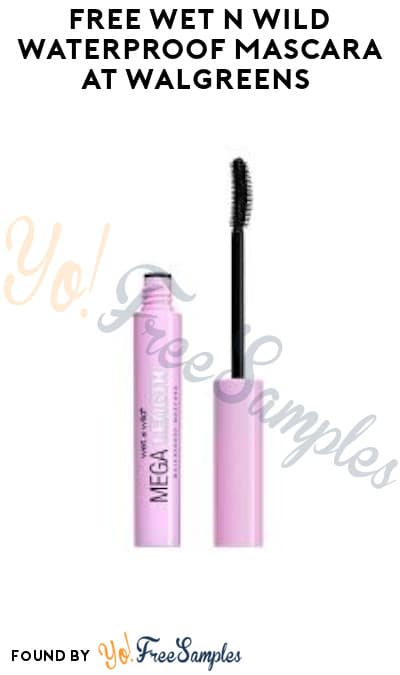 FREE Wet n Wild Waterproof Mascara at Walgreens (Online + Coupon Required)