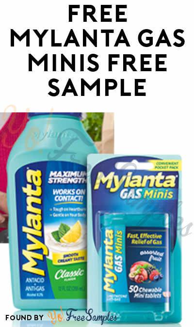 FREE Mylanta Gas Minis Free Sample