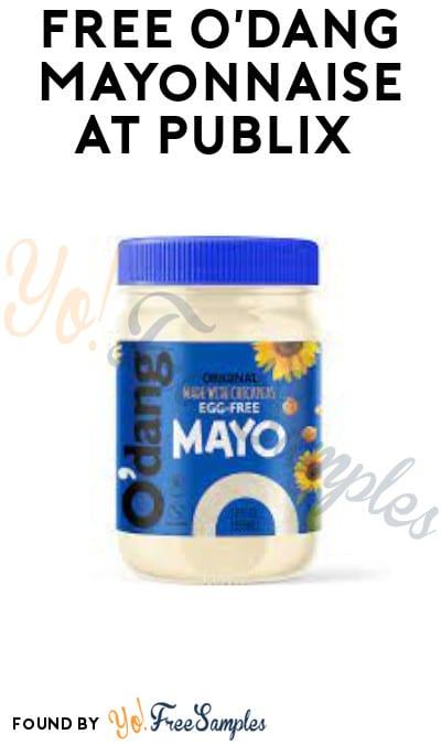FREE O'Dang Mayonnaise at Publix (Account/ Coupon Required)