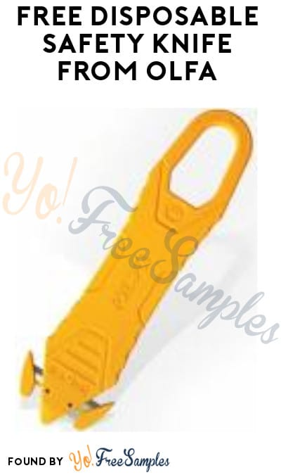 FREE Disposable Safety Knife from OLFA (Company Name Required)