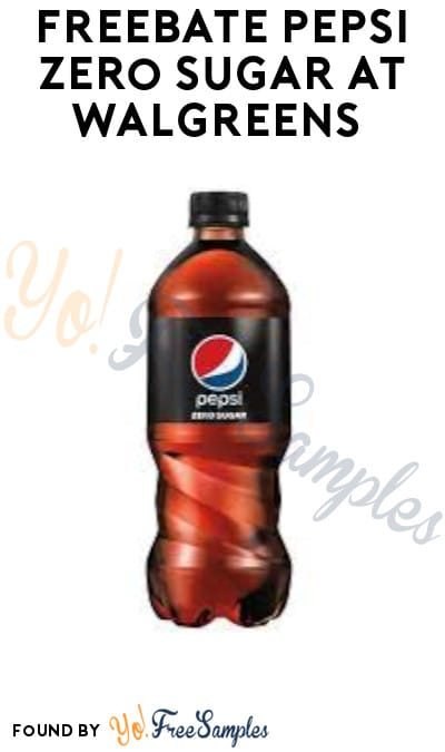 FREEBATE Pepsi Zero Sugar at Walgreens (Text + PayPal/ Venmo Required)