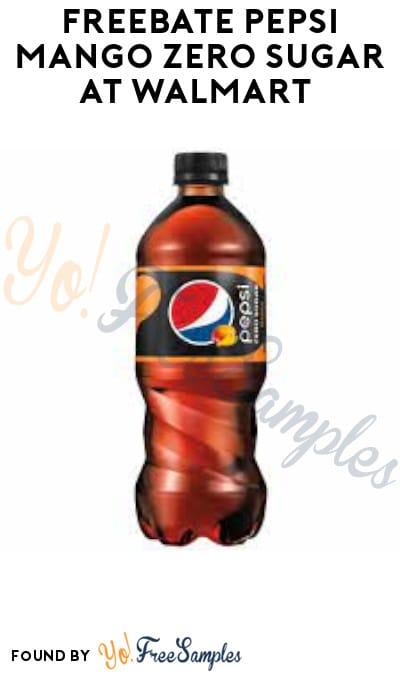 FREEBATE Pepsi Mango Zero Sugar at Walmart (Ibotta Required)