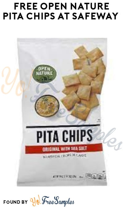 Possible FREE Open Nature Pita Chips at Safeway (Account/ Coupon Required)