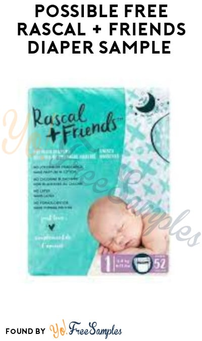 Possible FREE Rascal + Friends Diaper Sample (Facebook/ Instagram Required)