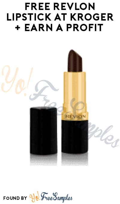 FREE Revlon Lipstick at Kroger + Earn A Profit (In-Store Only & Ibotta Required)