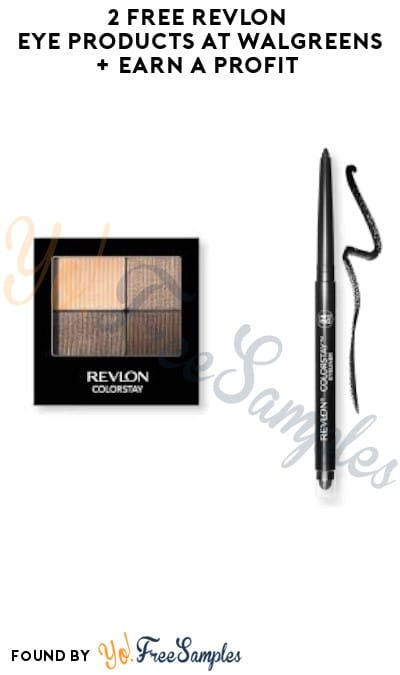 2 FREE Revlon Eye Products at Walgreens + Earn A Profit (Online + Rewards Required)