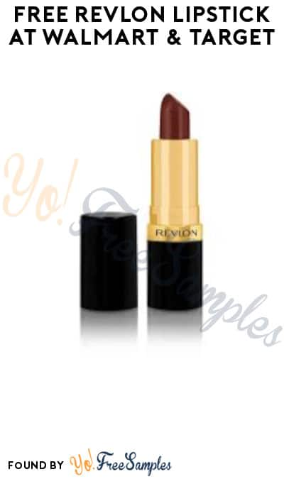 FREE Revlon Lipstick at Walmart & Target (In-Store Only & Ibotta Required)