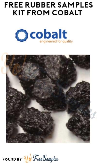FREE Rubber Samples Kit from Cobalt