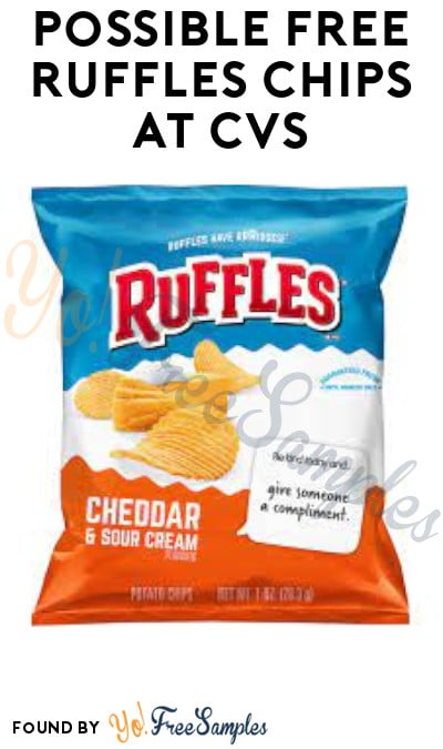 Possible FREE Ruffles Chips at CVS (Coupon/ App Required)