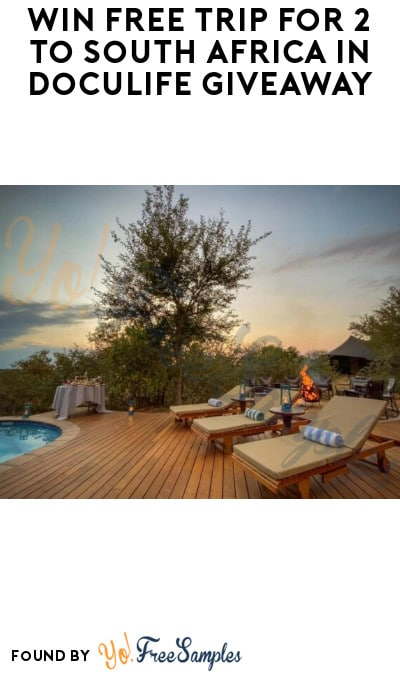 Win FREE Trip for 2 to South Africa in Doculife Giveaway