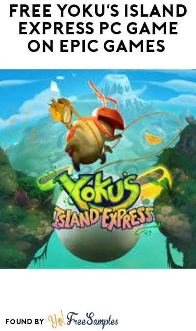 FREE Yoku's Island Express PC Game on Epic Games (Account Required)