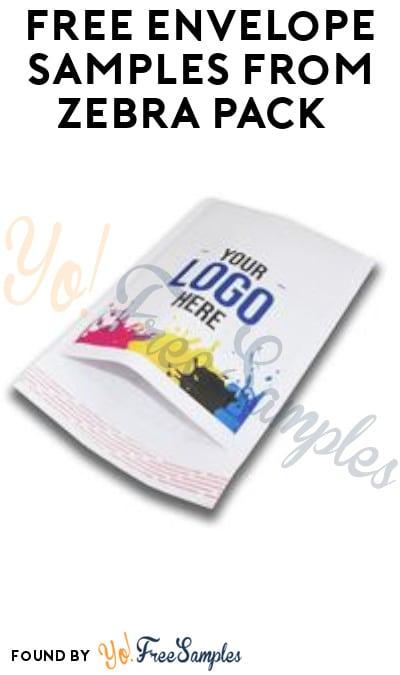 FREE Envelope Samples from Zebra Pack