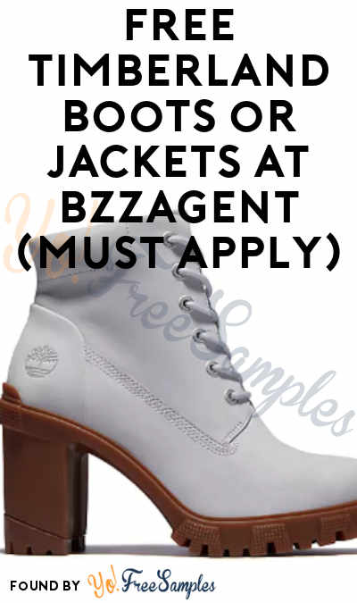 FREE Timberland Boots or Jackets At BzzAgent (Must Apply)