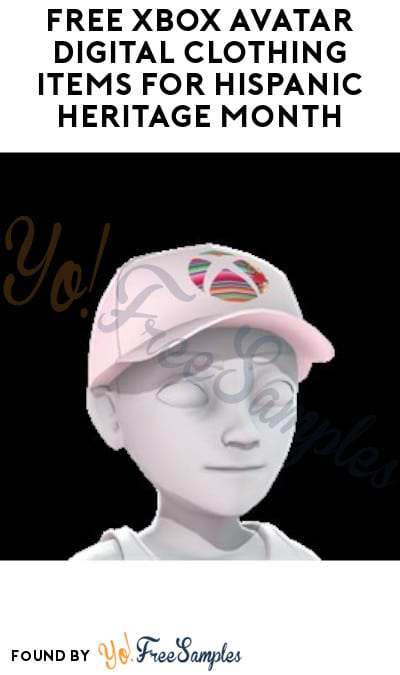 FREE Xbox Avatar Digital Clothing Items for Hispanic Heritage Month (Microsoft Account Required)