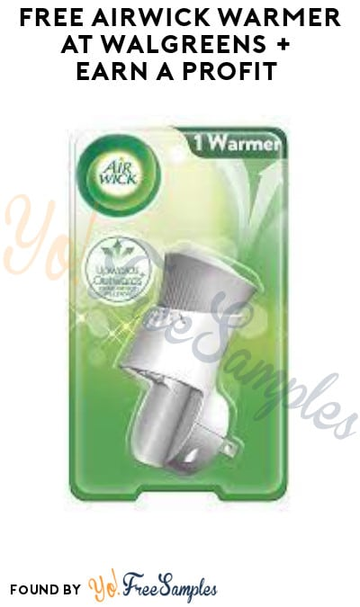 FREE Airwick Warmer at Walgreens + Earn A Profit (Coupon & Ibotta Required)