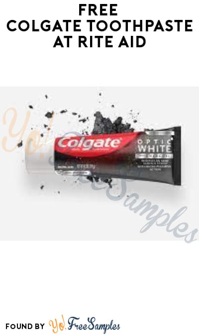 FREE Colgate Toothpaste at Rite Aid (Coupons Required + In-Store Only)