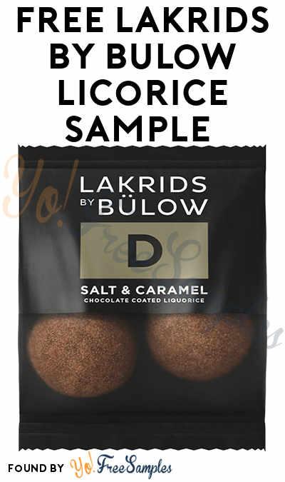 FREE Lakrids by Bülow Licorice Sample
