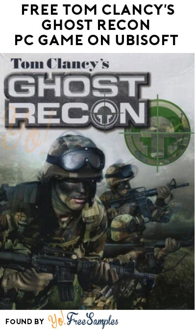 FREE Tom Clancy's Ghost Recon PC Game on Ubisoft