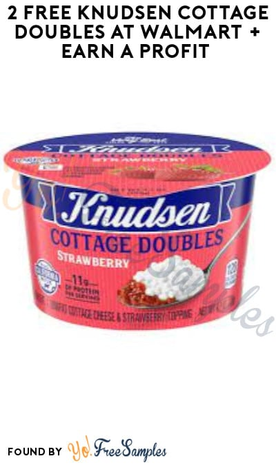 2 FREE Knudsen Cottage Doubles at Walmart + Earn A Profit (Ibotta & Shopkick Required)