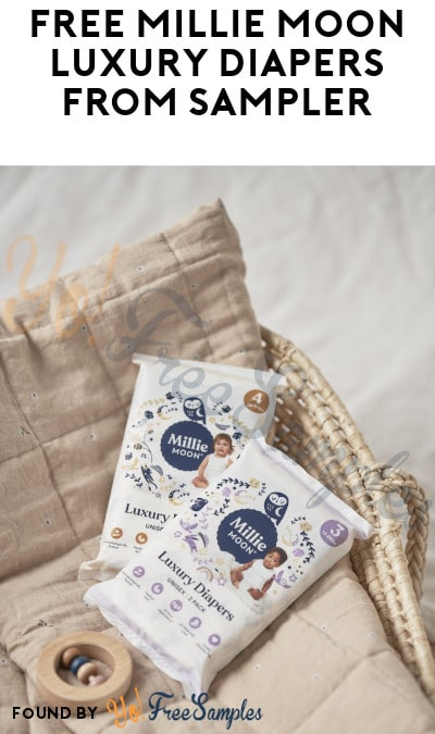 FREE Millie Moon Luxury Diapers from Sampler