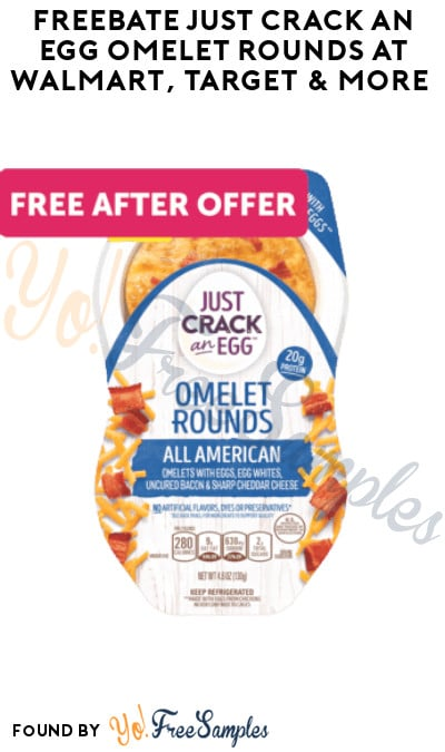 FREEBATE Just Crack An Egg Omelet Rounds at Walmart, Target & More (Ibotta Required)