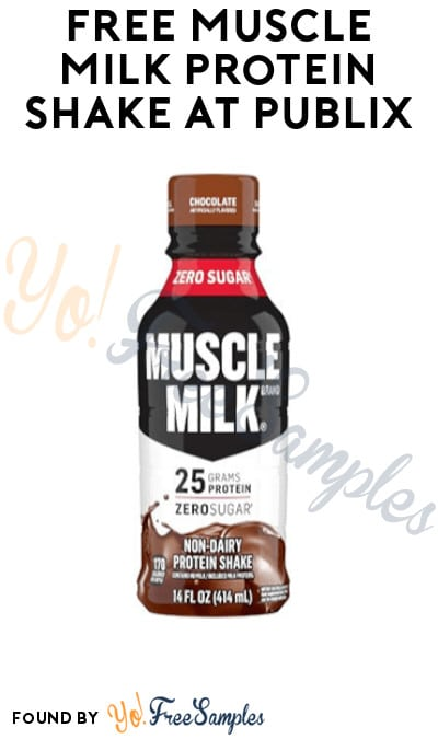 FREE Muscle Milk Protein Shake at Publix (Account/ Coupon Required)