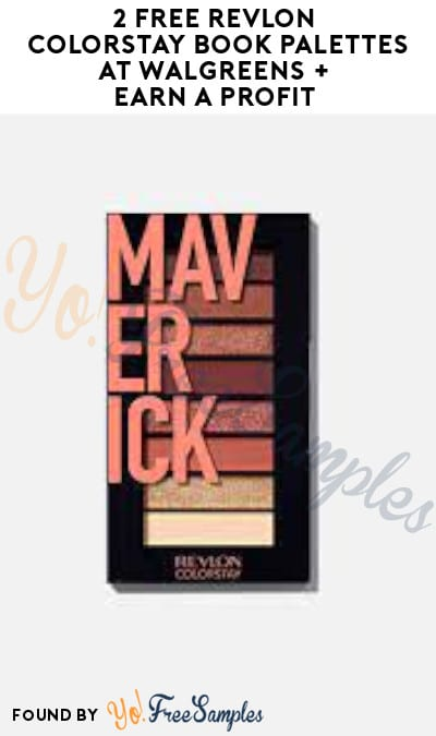 2 FREE Revlon Colorstay Book Palettes at Walgreens + Earn A Profit (Coupon & Checkout51 Required)