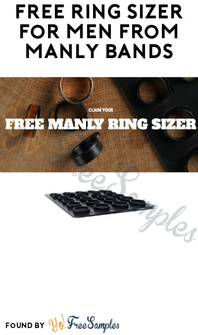 FREE Ring Sizer for Men from Manly Bands