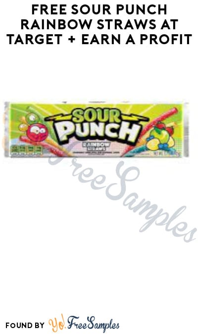 FREE Sour Punch Rainbow Straws at Target + Earn A Profit (Target Circle, Ibotta & Fetch Rewards Required)