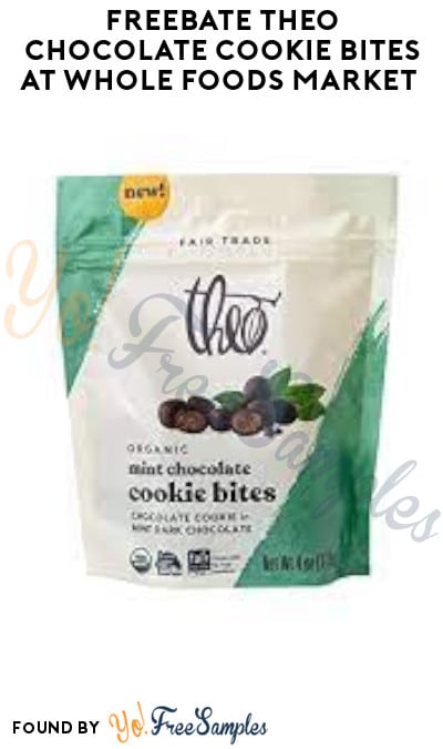 FREEBATE Theo Chocolate Cookie Bites at Whole Foods Market (Ibotta Required)